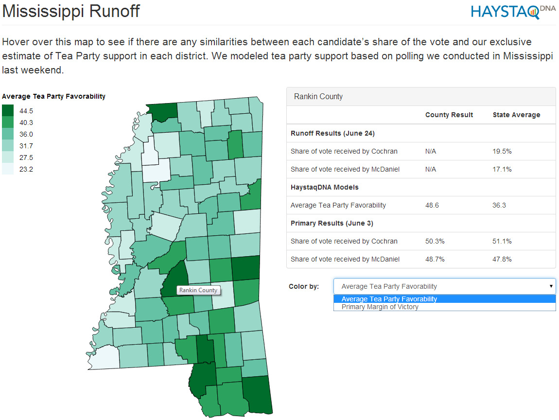 Mississippi Election Results Map Results As Of 1000pm