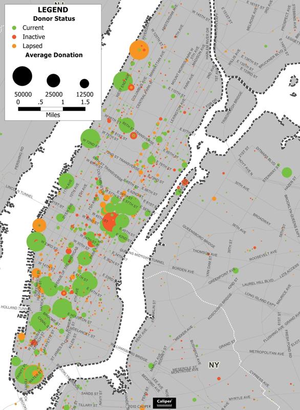 Manhattan Donor Points